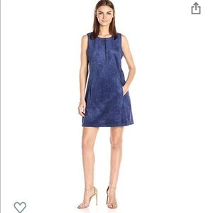 BCBGMaxazria Faux Suede Dress